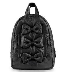 7AM - Mini Bows Backpack - Black