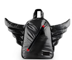 7AM - Mini Wings Backpack - Black