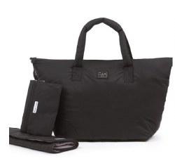7AM - Roma Diaper Bag Large - Black