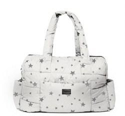 7AM - SoHo Satchel - Print White Stars