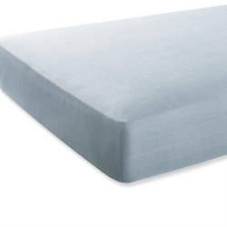 Aden + Anais - Bamboo Crib Sheet - Mnlght Grey
