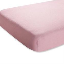 Aden + Anais - Bamboo Crib Sheet - Solid Rose Tranquility