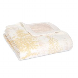 Aden + Anais - Bamboo Dream Blanket Metallic Primrose Birch