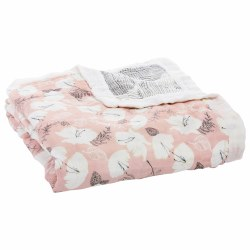 Aden + Anais - Bamboo Dream Blanket - Pretty Petals