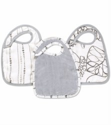 Aden + Anais - Bamboo Snap Bib - Moonlight