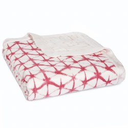 Aden + Anais - Bamboo Dream Blanket Berry Shibor