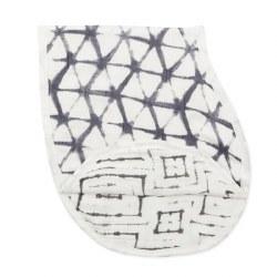 Aden + Anais - Bamboo Silky Soft Burpy Bib - Pebble Shibori