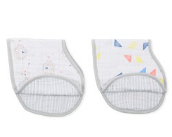 Aden + Anais - Classic Burpy Bib 2 Pack - Leader of the Pack
