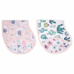 Aden + Anais - Classic Burpy Bib 2 Pack - Trail Blooms