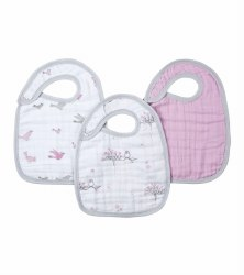 Aden + Anais - Classic Snap Bib 3 Pack - For the Birds