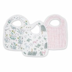 Aden + Anais - Classic Snap Bib 3 Pack - Forest Fantasy
