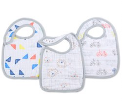 Aden + Anais - Classic Snap Bib 3 pack - Leader of the Pack