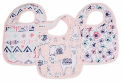 Aden + Anais - Classic Snap Bib 3 Pack - Trail Blooms