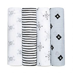 Aden + Anais - Classic Swaddle 4 pack - Lovestruck