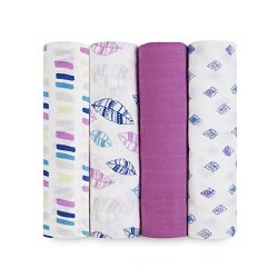 Aden + Anais - Classic Swaddle 4 pack - Wink