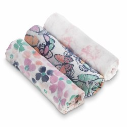 Aden + Anais - White Label Bamboo Swaddle 3 Pack - Festival