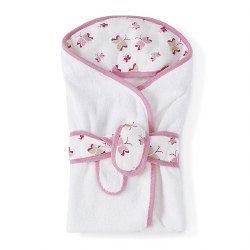 Aden + Anais - Terry Bath Wrap - Princess