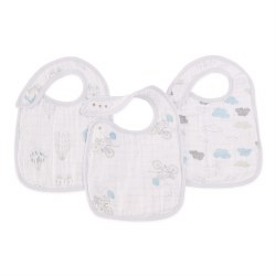 Aden + Anais - Classic Snap Bib 3 Pack - Night Sky Reverie