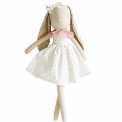 Alimrose - Doll - Juliette Bunny Silver Blush