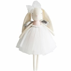 Alimrose - Doll - Angel Bunny Pink Silver