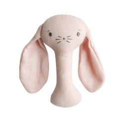 Alimrose - Stick Rattle - Bunny Pink