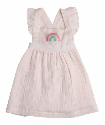 Angel Dear - Top & Bloomer Set Rainbow - Pink 3-6M