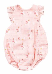 Angel Dear - Sunsuit Unicorn - Pink 0-3M
