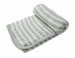 Angel Dear - Sherpa Blanket - Grey