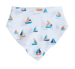 Angel Dear - Bandana Bib - Simple Boat
