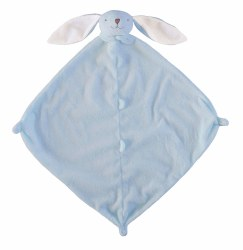 Angel Dear - Security Blankie - Blue Long Ear Bunny