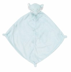 Angel Dear - Security Blankie - Blue Elephant