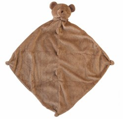 Angel Dear - Security Blankie - Brown Bear