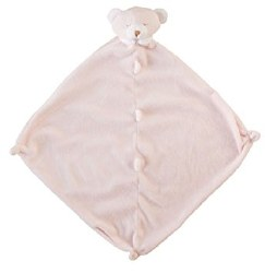 Angel Dear - Security Blankie - Bear Pink