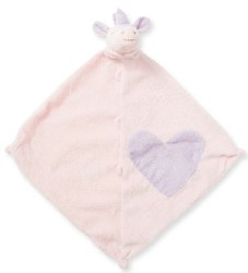 Angel Dear - Security Blankie - Unicorn Pink