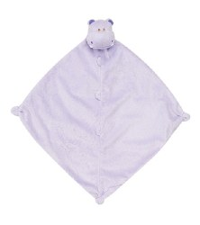 Angel Dear - Security Blankie - Purple Hippo