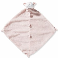 Angel Dear - Security Blankie - Bulldog Pink