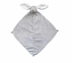 Angel Dear - Security Blankie - Bunny Grey