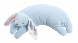 Angel Dear - Curved Pillow Rabbit Blue