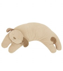 Angel Dear - Curved Pillow Dog Brown