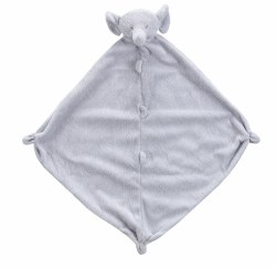 Angel Dear - Security Blankie - Grey Elephant
