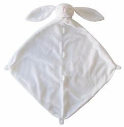 Angel Dear - Security Blankie - White Bunny