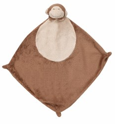 Angel Dear - Security Blankie - Brown Monkey