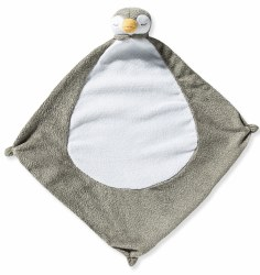 Angel Dear - Security Blankie - Penguin Grey