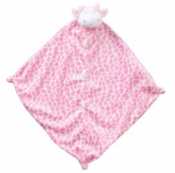 Angel Dear - Security Blankie - Pink Giraffe