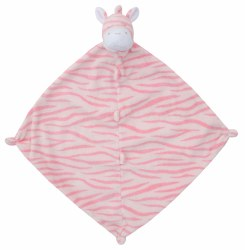 Angel Dear - Security Blankie - Pink Zebra