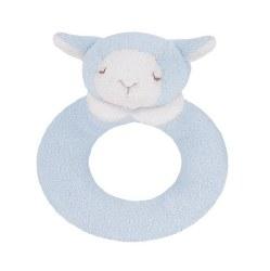 Angel Dear - Ring Rattle Sheep Blue