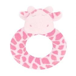 Angel Dear - Ring Rattle Giraffe Pink