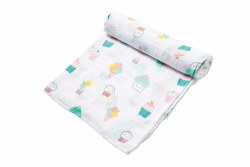 Angel Dear - Bamboo Single Swaddle Blanket - Sprinkles