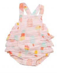 Angel Dear - Ruffled Sunset Cool Sweet - Pink 0-3M