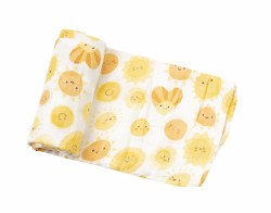 Angel Dear - Bamboo Single Swaddle Blanket - Sunshine